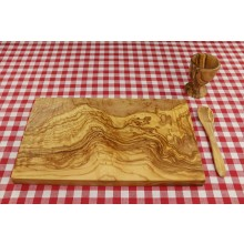 Breakfast Set PALMA, 3 pieces of Olive Wood