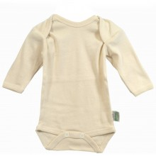 Long-sleeve Bodysuit of Organic Cotton, different sizes