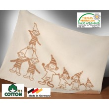 ASMi Baby Blanket Organic Cotton dwarfs
