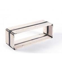 MOVEO. CASA 20.60 – Upcycling Shelf – white