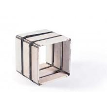 MOVEO. CASA 30.30 – Upcycling Shelf – white