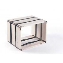 MOVEO. CASA 30.40 – Upcycling Shelf – white