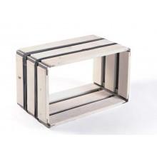 MOVEO. CASA 30.50 – Upcycling Shelf – white