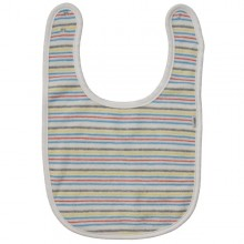 iobio Organic Cotton Baby Bib – multicoloured