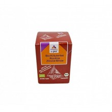 naturamo Organic Rooibos Herb Tea + Lemon + Mint