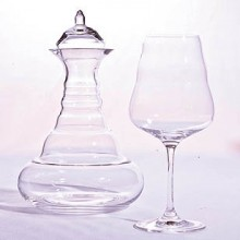 Wine Carafe + 2 Wine Glasses gastro
