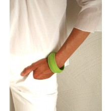 Armlet – Bracelet GREEN made of Eco Paper Ø 6,5 cm