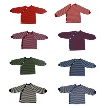 Baby Pullover   Button Tape Organic Cotton   Reiff