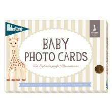 Baby Photo Cards Sophie la girafe / Milestone