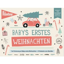 Baby's First Christmas Booklet by Milestone™ in German