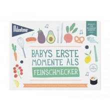 Baby's First Foodie Moments Booklet by Milestone™ in German