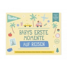Baby's First Travel Moments Booklet by Milestone™ in German