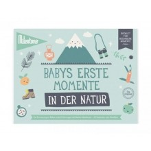 Baby's First Outdoor Moments Booklet by Milestone™ in German