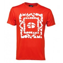 Men T-Shirt ZACATON 100% recycled – Magma Red