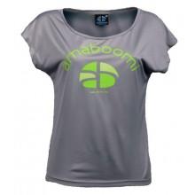 Women T-Shirt KIBO 100% recycled – Ash Grey