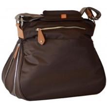 PacaPod Portland Chocolate – Large Changing Baby Bag & Messenger Bag