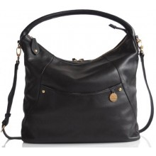 PacaPod Jasper Black – Baby Changing Bag | Leather Bag