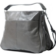 PacaPod Sydney Charcoal – Baby Changing Bag | Leather Bag