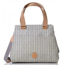 PacaPod Richmond Dove Herringbone – Nappy Bag & Handbag