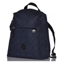 Hartland Navy Acorn Eco Changing Bag in Backpack-Style & Cool Bag & Messenger Bag, PacaPod