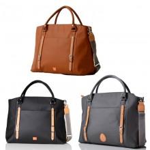 PacaPod Mirano Changing Bag – Black | Tan | Pewter