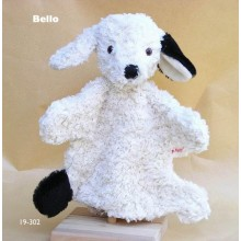 Hand Puppet Dog Bello Organic Cotton from Kallisto