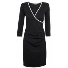 Wrap Dress Organic Jersey black