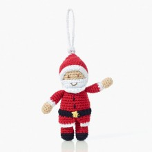 Pebble Xmas Decoration – Santa