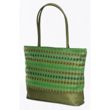 Tanu shopping bag in upcycled saree fabric