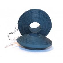 Paper-Earrings – petrol II Eco & Fair