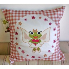 """Cushion Cover """"Fay"""" of Organic Cotton"""