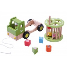 EverEarth Recycling Truck, Sorting & Pull along Toy