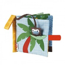 Monkey fabric book