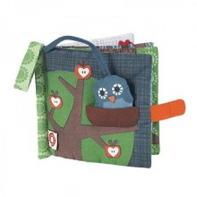 Owl fabric picture book