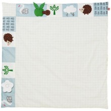 "Pusling ""Swan"" Play Mat and Organic Baby Blanket"