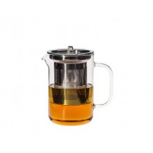 Teepot PISA 0.6 l with stainless steel strainer