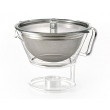 Teapot GLOBE 1,3l with stainless steel strainer