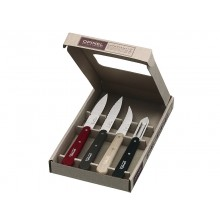 Opinel Essentials Paring Knives Set of 4 - Loft