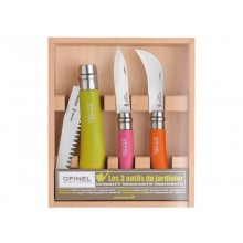 Opinel Gardener Box Set – Gardening Knife Set, 3-part