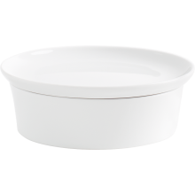 Kahla Magic Grip Kitchen Baking Dish with Lid, white Ø 21 cm