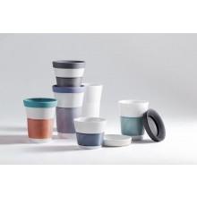 Kahla cupit to go Magic Grip – Takeaway Porcelain Coffee Mug