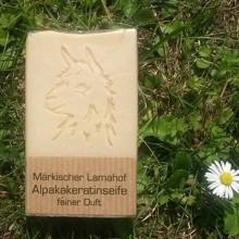 Alpaca Keratin Natural Soap – Fine Scent