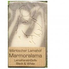 Lama Keratin Marmoralama Black & White Natural Soap