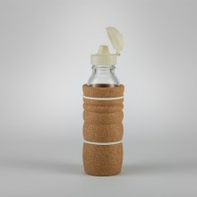 Thank You Bottle 0.3 l with Cork Sleeve – heat-resistant