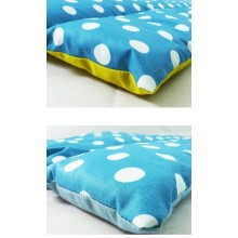 Rinseable Baby's Changing Mat Turquoise-White Dotted in various sizes