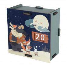 Reusable Advent calendar for Filling
