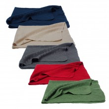 Baby Blanket and wraparound garment made of Eco Wool & Silk 80x95 cm