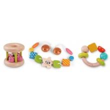 Motor Skills Infant Toy Bundle 2 - FSC® Wood, EverEarth®
