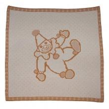 Baby Blanket »Harlequin« of Organic Cotton, Sonnenstrick