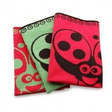 Baby Blanket Ladybird – Organic Cotton